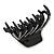 Black Acrylic Hair Claw - 85mm Width - view 6