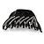 Black Acrylic Hair Claw - 85mm Width - view 9