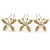 Bridal/ Wedding/ Prom/ Party Set Of 3 Gold Tone Clear Austrian Crystal Butterfly Hair Pins - view 6