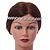 Wedding/ Bridal Clear Crystal Square Motif Elastic Hair Band/ Elastic Band/ Headband - 50cm L (not stretched) - view 2