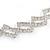 Wedding/ Bridal Clear Crystal Square Motif Elastic Hair Band/ Elastic Band/ Headband - 50cm L (not stretched) - view 4