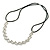 Wedding/ Bridal Clear Crystal Square Motif Elastic Hair Band/ Elastic Band/ Headband - 50cm L (not stretched) - view 5