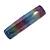 'Rainbow' Glitter Acrylic Square Barrette/ Hair Clip In Silver Tone - 90mm Long - view 7