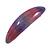 Purple/ Pink Glitter Acrylic Oval Barrette/ Hair Clip In Silver Tone - 90mm Long