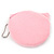 Ligth Pink Kitty Fabric Coin Purse/ Bag Charm for Kids - 10.5cm Width - view 3