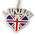 I Love London Keyring/ Bag Charm SOUVENIR - 9cm L - view 6