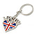 I Love London Keyring/ Bag Charm SOUVENIR - 9cm L - view 4