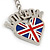 I Love London Keyring/ Bag Charm SOUVENIR - 9cm L - view 5
