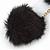 Black Faux Fur Pom-Pom and Black Faux Leather Tassel Gold Tone Key Ring/ Bag Charm - 21cm L - view 4