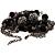 Black Long Double Tassel Fashion Necklace - view 4