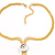 Gold Plated Hollywood Style Long Tassel Necklace - view 7