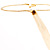Gold Plated Hollywood Style Long Tassel Necklace - view 10