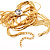 Gold Plated Hollywood Style Long Tassel Necklace - view 9