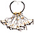 Romantic Multi Cord Wood Nugget & Chips & Beads Fashion Necklace