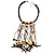 Romantic Multi Cord Wood Nugget & Chips & Beads Fashion Necklace - view 4