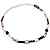 Long Oval Link Perspex Fashion Necklace - view 4