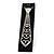 Clear Austrian Crystal Heart Tie Necklace - 32cm L/ 12cm Ext/ 17cm Tie - view 5