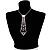 Clear Austrian Crystal Heart Tie Necklace - 32cm L/ 12cm Ext/ 17cm Tie - view 8