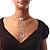 Clear Austrian Crystal Heart Tie Necklace - 32cm L/ 12cm Ext/ 17cm Tie - view 17