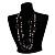 Boho Two Strand Bead Black Fashion Necklace - view 9