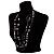 Boho Two Strand Bead Black Fashion Necklace - view 6