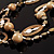 Boho Two Strand Bead Light Cream Fashion Necklace - view 10