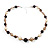 Long Resin Bead Necklace - 60cm L - view 4