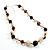 Long Resin Bead Necklace - 60cm L