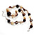 Long Resin Bead Necklace - 60cm L - view 9