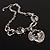 Unique Vintage Hammered Necklace (Black) - view 9