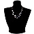2 Strand Black Shell Beaded Necklace - view 6