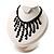 Black Gothic Sequin Fashion Choker Necklace