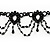 Black Beaded Choker - view 6