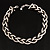 Chic Braided Choker Necklace (Silver&Black Tone) - view 8