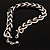 Chic Braided Choker Necklace (Silver&Black Tone) - view 7