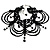 Victorian Black Beaded Choker Adult - view 2
