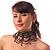 Victorian Black Beaded Choker Adult - view 3