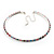 Thin Austrian Crystal Choker Necklace (Multicoloured) - view 2