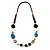 Summer Style Butterfly Leather Cord Necklace - 80cm L - view 7