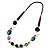 Summer Style Butterfly Leather Cord Necklace - 80cm L - view 8
