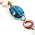 Summer Style Butterfly Leather Cord Necklace - 80cm L - view 5