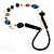 Summer Style Butterfly Leather Cord Necklace - 80cm L - view 6