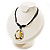 Teardrop Mother of Pearl Cotton Cord Pendant Necklace - view 7
