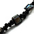 Multistrand Glass And Shell - Composite Necklace (Slate Black) - view 5