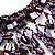 Purple Shell-Composite Bib Necklace - 34cm Length - view 10