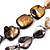 Long Multicoloured Shell Necklace -134cm Length - view 4