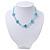 Children's Blue 'Heart' Necklace - 36cm Length/ 4cm Extension - view 5