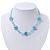 Children's Blue 'Heart' Necklace - 36cm Length/ 4cm Extension - view 2