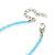 Children's Blue 'Heart' Necklace - 36cm Length/ 4cm Extension - view 4