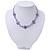 Children's Purple 'Heart' Necklace - 36cm Length/ 4cm Extension - view 5